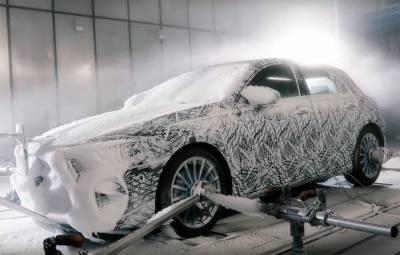 Mercedes-Benz A-Class 2018 - teste zapada Suedia
