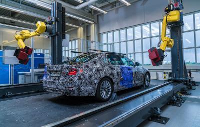 BMW Seria 5 2017 - fabrica Dingolfing