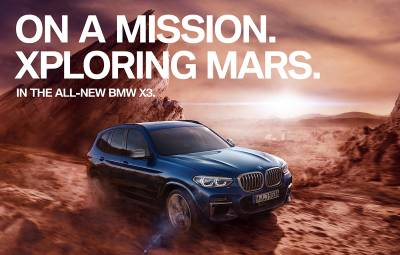 BMW X3 - On a Mission Xploring Mars