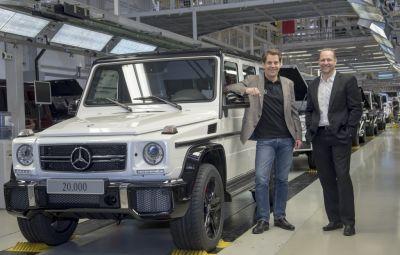 Mercedes-Benz G-Class - 20.000 unitati anual