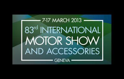 Salonul Auto de la Geneva 2013