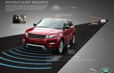 Jaguar Land Rover - sistem de evitare automata a gropilor