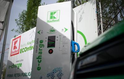 Kaufland - statie incarcare masini electrice