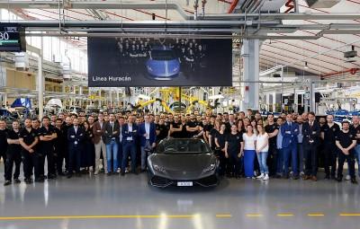 Lamborghini Huracan - 8.000 exemplare
