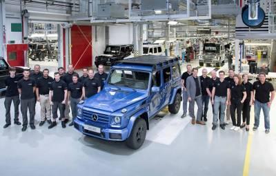 Mercedes-Benz G-Class - 300.000 exemplare