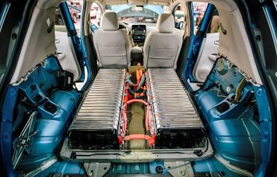 Nissan - baterii Li-Ion