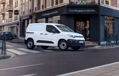 Noul Citroën ë-Berlingo Van