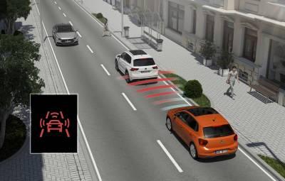 Noul VW Polo - sisteme siguranta activa