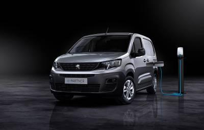 Noul Peugeot e-Partner