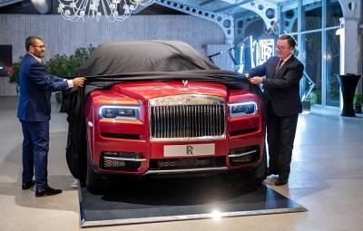 Rolls-Royce Cullinan - prezentare Bucuresti