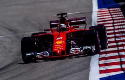 Sebastian Vettel - pole position Rusia 2017
