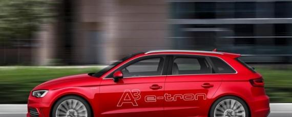 Audi A3 e-tron - lateral