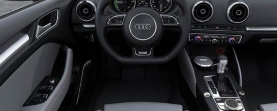 Audi A3 e-tron - planşa de bord