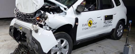 Dacia Duster 2018 - Euro NCAP (02)