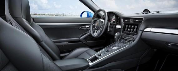 Noul Porsche 911 Targa 4S - interior