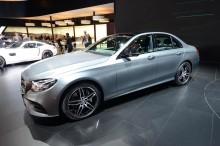 Noul Mercedes-Benz E-Class - Detroit 2016