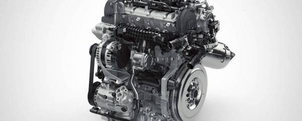 Volvo Drive-E - motor 3 cilindri