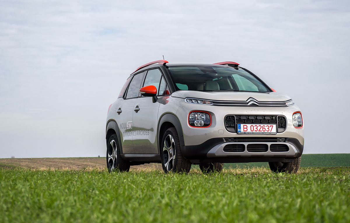 test drive citroen c3 aircross 1 2 puretech 110 eat6 shine auto testdrive. Black Bedroom Furniture Sets. Home Design Ideas