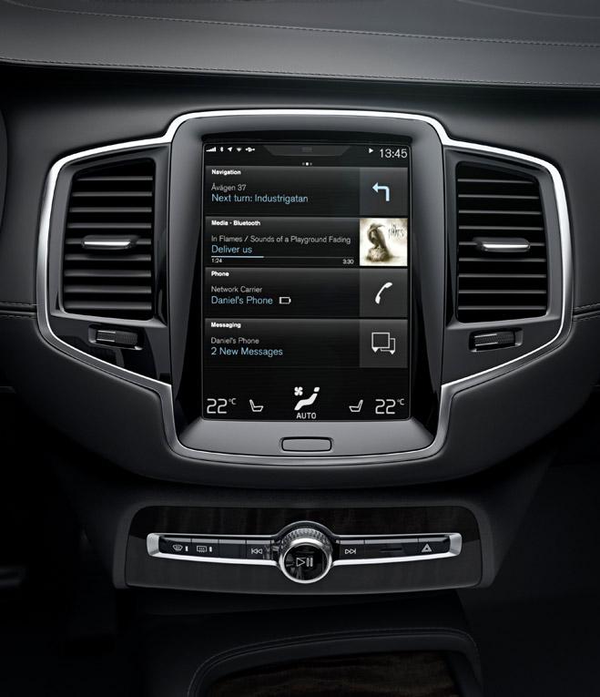 Volvo Sensus Desemnată Cea Mai Inovativă Tehnologie De